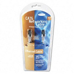 High Performance CAT6 UTP Patch Cable 14 ft. Gray (BLKA3L98014S)