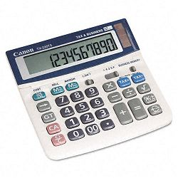 TX220TS Mini Desktop Handheld Calculator 12-Digit LCD (CNMTX220TS)
