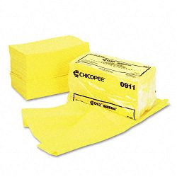 "Masslinn Dust Cloths 24"" x 24"" Yellow 50Bag Carton of 2 (CHI0911)"