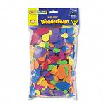 Wonderfoam Shapes Assorted ShapesColors 720 PiecesPack (CKC4314)