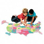 Wonderfoam Giant U.S.A Puzzle Map 73 Pieces (CKC4377)
