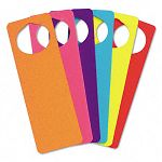 WonderFoam Door Knob Hangers Six Assorted Colors (CKC4379)
