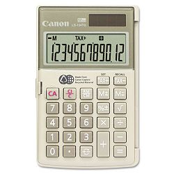 LS154TG Handheld Calculator 12-Digit LCD (CNM1075B004)
