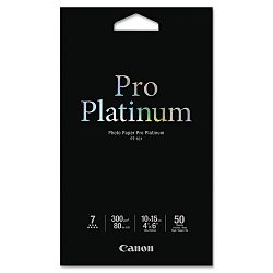 "Photo Paper Pro Platinum High Gloss 4"" x 6"" 50 SheetsPack (CNM2768B014AA)"