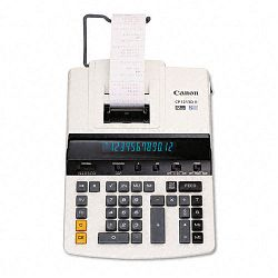 CP1213DII 2-Color Heavy-Duty Printing Calculator12-Digit Fluorescent BlackRed (CNMCP1213DII)