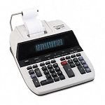 CP1260D Two-Color Printing Calculator 12-Digit Fluorescent BlackRed (CNMCP1260D)