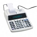 MP27D Two-Color Ribbon Printing Calculator 12-Digit Fluorescent BlackRed (CNMMP27D)