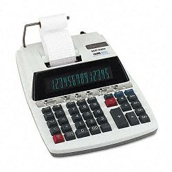 MP49D Two-Color Ribbon Printing Calculator 14-Digit Fluorescent BlackRed (CNMMP49D)