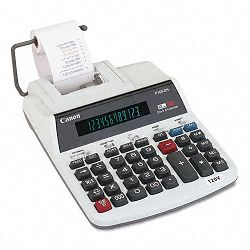 P160DH Two-Color Roller Printing Calculator 12-Digit Fluorescent BlackRed (CNMP160DH)