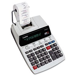 P170DH Two-Color Roller Printing Calculator 12-Digit Fluorescent BlackRed (CNMP170DH)