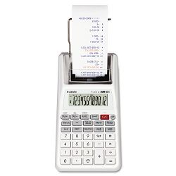 P1-DHVG One-Color 12-Digit Printing Calculator White (CNMP1DHVG)