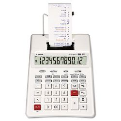 P23-DHVG 12-Digit Two-Color Printing Calculator White (CNMP23DHVG)