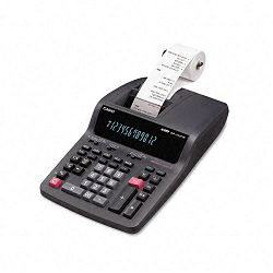 DR-210TM Two-Color Desktop Calculator 12-Digit Digitron BlackRed (CSODR210TM)