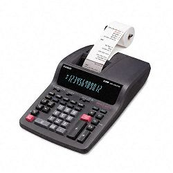 DR-250TM Two-Color Desktop Calculator 12-Digit Digitron BlackRed (CSODR250TM)
