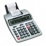 HR-100TM Two-Color Portable Printing Calculator 12-Digit LCD BlackRed (CSOHR100TM)