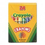 Classic Color Pack Crayons Tuck Box Box of 24 (CYO520024)