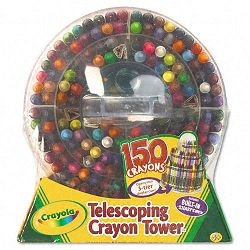 Telescoping Crayon Tower Wax 150 ColorsPack (CYO520029)