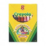 Multicultural Crayons 8 Skin Tone ColorsBox (CYO52008W)