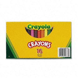 Large Crayons 16 ColorsBox (CYO520336)