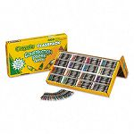 Construction Paper Crayons Wax 25 Sets of 16 Colors Box of 400 (CYO521617)