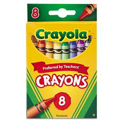 Classic Color Pack Crayons 8 ColorsBox (CYO523008)
