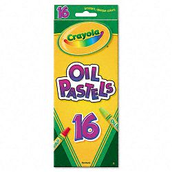 Oil Pastels 16-Color Set Assorted Pack of 16 (CYO524616)