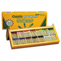 Oil Pastels 12-Color Set Assorted Pack of 336 (CYO524629)