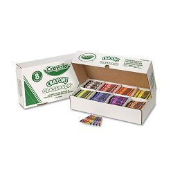 Classpack Regular Crayons 8 Colors Box of 800 (CYO528008)
