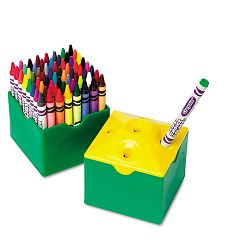 Classpack Regular Crayons Assorted 13 Caddies Box of 832 (CYO528019)