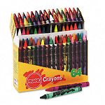 Crayons Made with Soy Assorted Box of 64 (DIX01400)