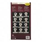 "Bulldog Magnetic Clips Steel 2-14""w Nickel-Plated Box of 12 (EPI2027)"