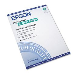 "Photo-Quality Glossy Paper 38 lbs. 16-12"" x 23-12"" 20 SheetsPack (EPSS041123)"