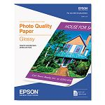 "Photo-Quality Glossy Paper 9.3 Mil 8-12"" x 11"" 20 SheetsPack (EPSS041124)"