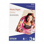 "Glossy Photo Paper 60 lbs. Glossy 13"" x 19"" 20 SheetsPack (EPSS041143)"