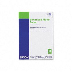 "Ultra Premium Matte Presentation Paper 11-34"" x 16-12"" White Pack of 50 (EPSS041343)"
