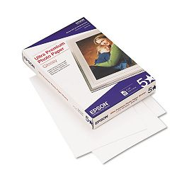 "Ultra-Premium Glossy Photo Paper 79 lbs. 4"" x 6"" 60 SheetsPack (EPSS042181)"