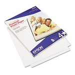 "Premium Photo Paper 68 lbs. High-Gloss 8-12"" x 11"" 25 SheetsPack (EPSS042183)"