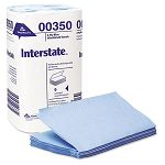 "Interstate 2-Ply Singlefold Auto Care Wipers 9.5"" x 10.25 Pack of 250 Carton of 9 (GEP00350)"