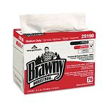 "Brawny Industrial Airlaid Medium-Duty Wipers 9 14"" x 12 25"" Box of 76 Carton of 10 (GEP2919003CT)"
