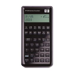 20B Business Consultant Calculator 12-Digit LCD (HEW20B)
