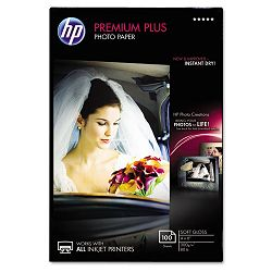 "Premium Plus Photo Paper 80 lbs. Soft-Gloss 4"" x 6"" 100 SheetsPack (HEWCR666A)"
