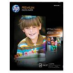 "Premium Photo Paper 64 lbs. Matte 8-12"" x 11"" 50 SheetsPack (HEWQ1994A)"