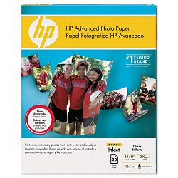 "Advanced Photo Paper 56 lbs. Glossy 8-12"" x 11"" 25 SheetsPack (HEWQ7852AND)"