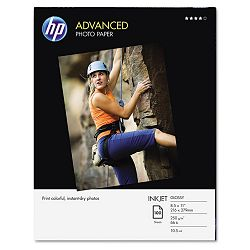 "Advanced Photo Paper 56 lbs. Glossy 8-12"" x 11"" 100 SheetsPack (HEWQ7854AND)"