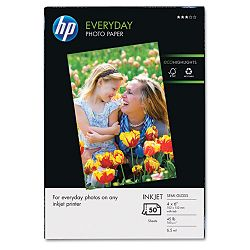 "Everyday Photo Paper Glossy 4"" x 6"" 50 SheetsPack (HEWQ8868AND)"