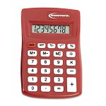 15902 Pocket Calculator Red (IVR15902)