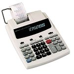 16000 Two-Color Roller Printing Calculator 12-Digit Fluorescent BlackRed (IVR16000)