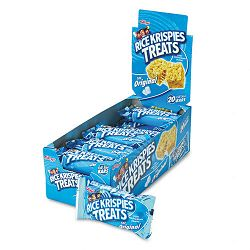 Rice Krispies Treats Original Marshmallow 1.3oz Snack Pack 20 PacksBox (KEB26547)
