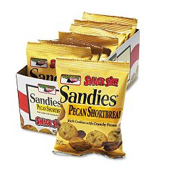 Mini Cookies Pecan Sandies 2oz Snack Pack 8 PacksBox (KEB39728)
