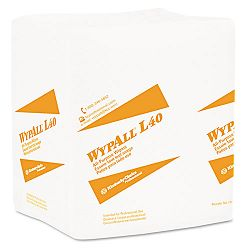 "WYPALL L40 Cloth-Like Wipes 16 25"" x 9 45"" Box of 100 Carton of 9 (KIM05790)"